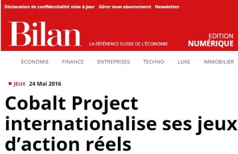 Cobalt Project sur Bilan.ch