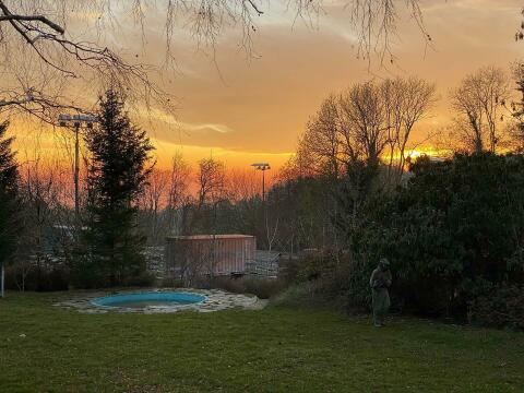 Un magnifique coucher de soleil pour nos Sons Of Cobalt!