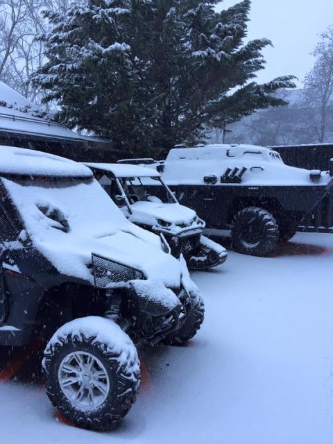 Cobalt Project en mode neige